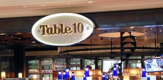 Live Music from Local Bands at Table 10 in The Palazzo Las Vegas