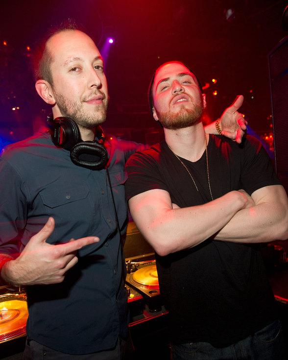 Mike Posner and DJ Reflex at TAO