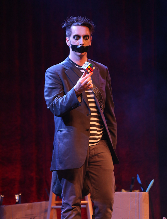 """Tape Face will be live in the studio on """"The Vegas Take"""" with Mike and Brian."""