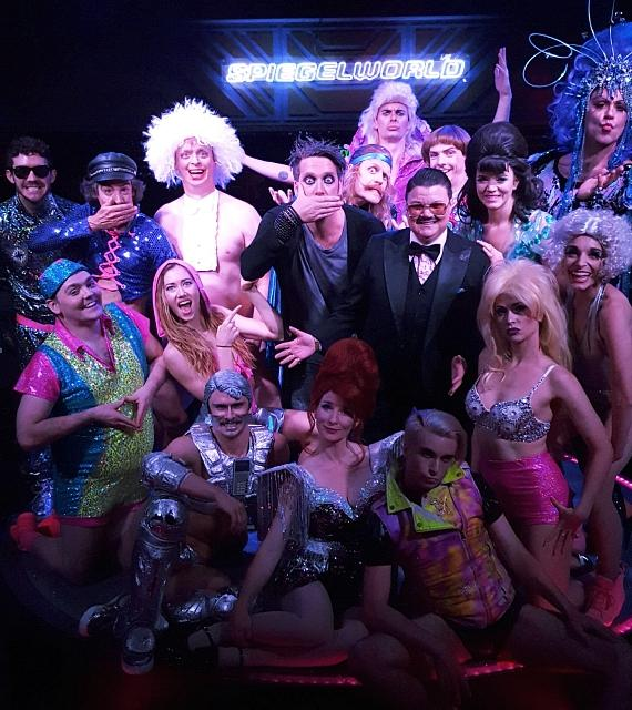 Magician Murray Sawchuck, and Comedians Tape Face and Murray Hill Attend OPIUM at The Cosmopolitan of Las Vegas