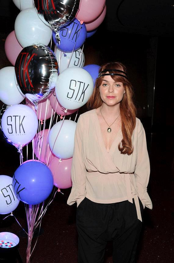 Celebrity DJ Taryn Manning helps STK celebrate its First Anniversary at The Cosmopolitan of Las Vegas
