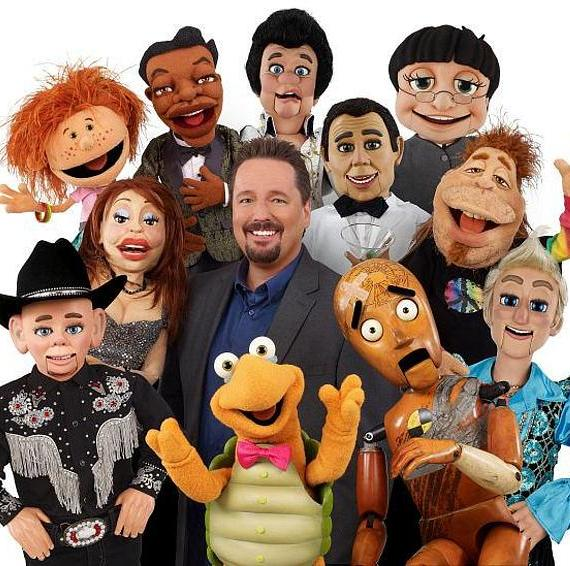 Terry Fator's Famous Characters