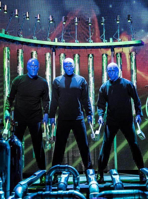Blue Man Group Las Vegas Is Kicking off the Holiday Shopping Season with Special Ticket Offers