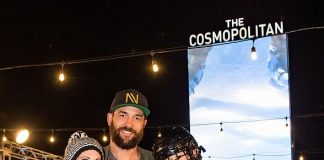 Vegas Golden Knights Defenseman Deryk Engelland Hosts Second Annual Tree Lighting Ceremony at the Ice Rink at the Cosmopolitan of Las Vegas