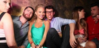 """""""Big Brother"""" Cast Members Amber Borzotra, Jeremy McGuire and More Party at The Bank"""