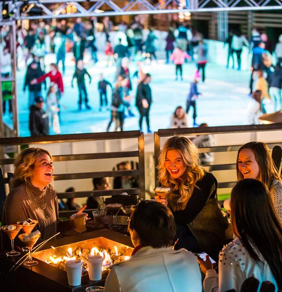 The Ice Rink opens at The Cosmopolitan of Las Vegas