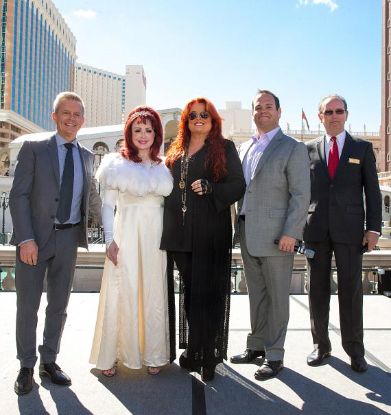The Judds arrive at The Venetian Las Vegas