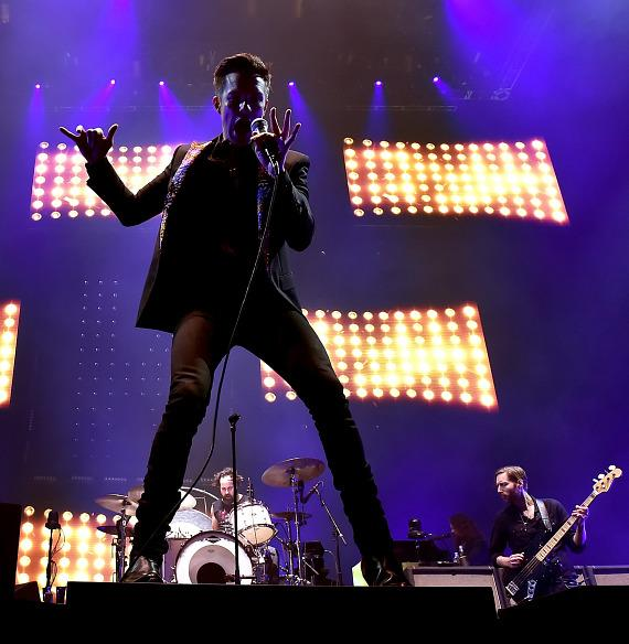 The Killers Perform at T-Mobile Arena Grand Opening
