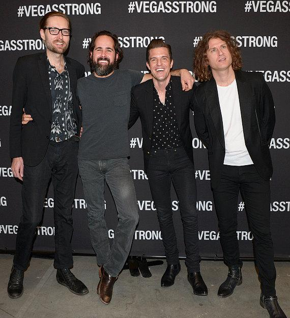 The Killers at Vegas Strong Benefit Concert