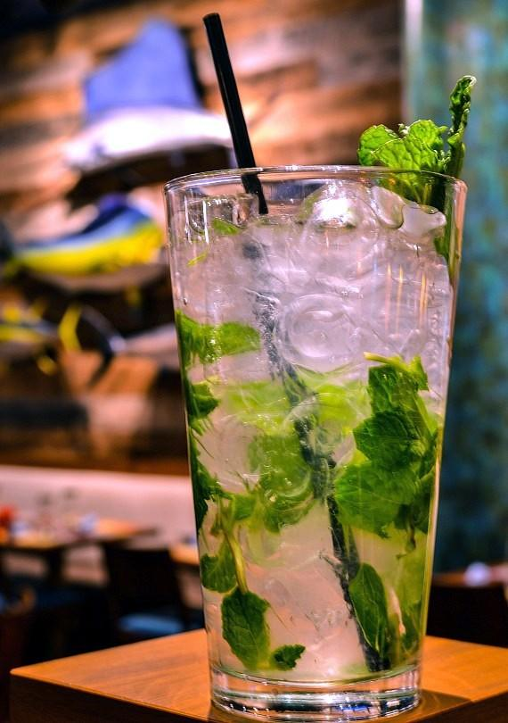 The Mojito Bar at Seafood Shack - House Muddled Mojito