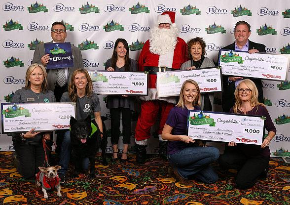 Boyd Gaming Announces Fourth Annual 'Trees of Hope' Results