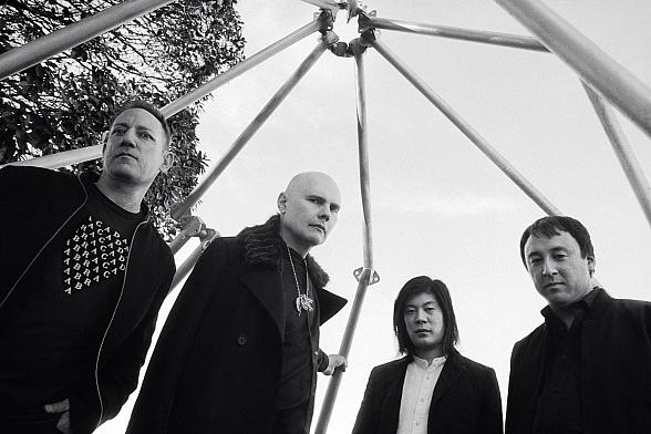 """Smashing Pumpkins Featuring Original Members Billy Corgan, Jimmy Chamberlin, and James Iha Announce """"Shiny And Oh So Bright"""" Tour Coming to T-Mobile Arena September 2"""