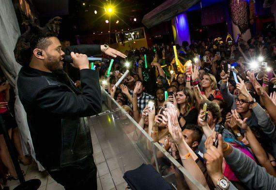R&B Phenomenon The Weeknd Makes Las Vegas Debut at PURE Nightclub with Live Performance