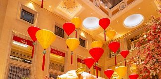 The Venetian Resort Las Vegas Celebrates Chinese New Year with Art Installation and Lion Dance