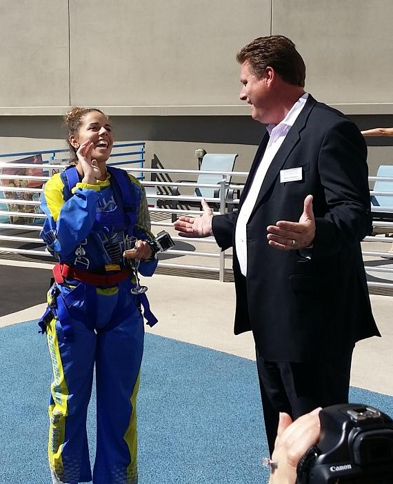 Stratosphere Hotel, Casino & Tower Celebrates 200,000th Guest at SkyJump Las Vegas