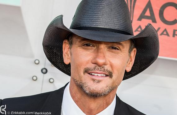 Tim McGraw at ACM Awards at MGM Grand in Las Vegas