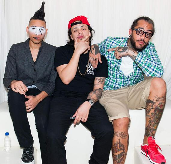 Tim Williams, Ax and ravie McCoy at PURE Nightclub
