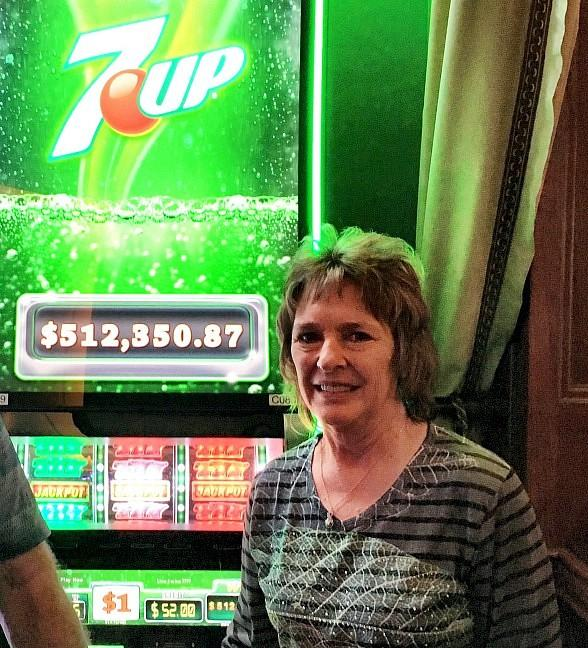 Player at The Orleans Hotel and Casino Scores $512,350 Playing 7UP Slot Jackpot