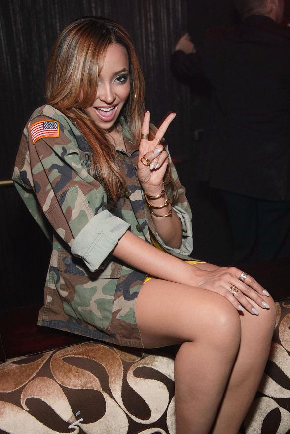R&B Songstress Tinashe Spends Her Day at TAO