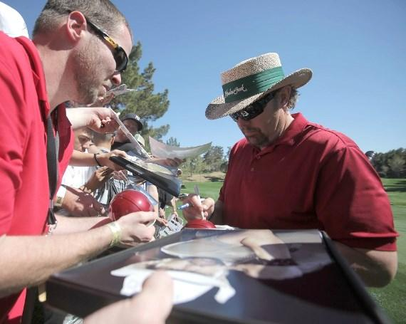 Toby Keith Signs Autographs at Shadow Creek for MJCI