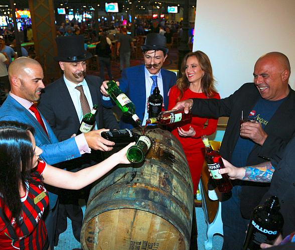 Le Central at Paris Las Vegas Makes History with World's Largest Barrel-Aged Negroni