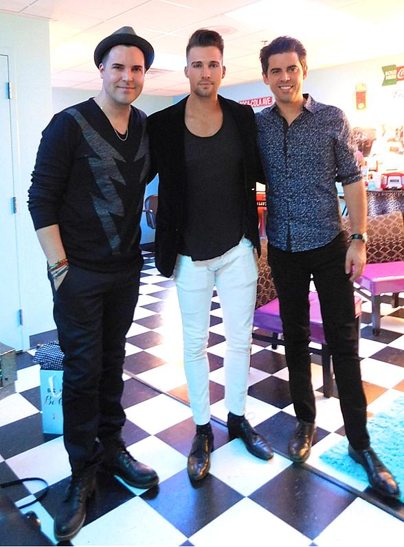 Renowned Musician Tony DeSare and Big Time Rush Star James Maslow attend