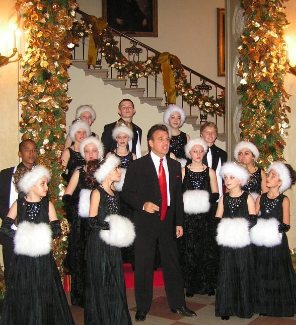 Tony Sacca and Las Vegas Young Entertainers at the White House