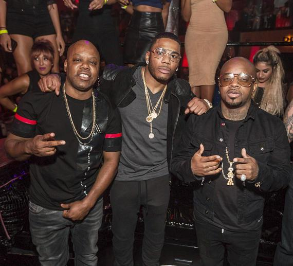 Nelly and Friends, Hosted by Jermaine Dupri, perform at Drai's Nightclub Las Vegas