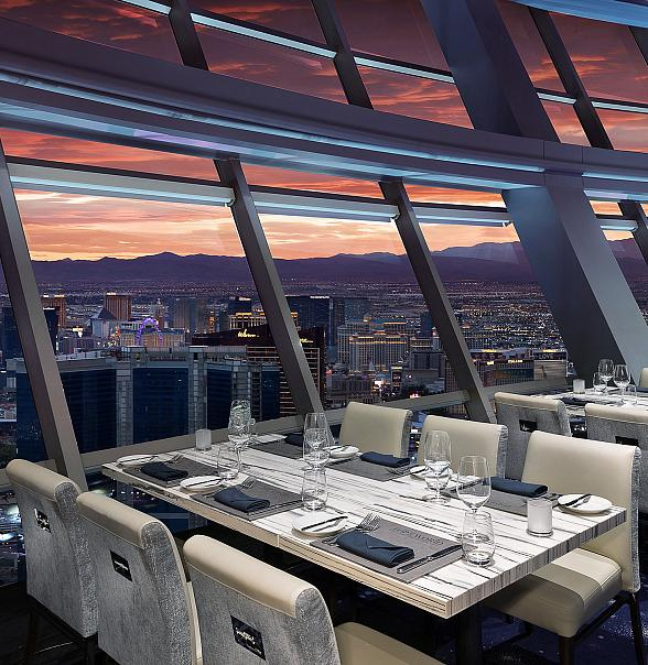 Dine on Cloud Nine this Valentine's Day at Stratosphere Casino, Hotel & Tower's Award-Winning Top of the World