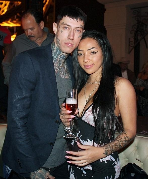Trace Cyrus Hosts Birthday Party at Chateau Nightclub & Rooftop in Las Vegas