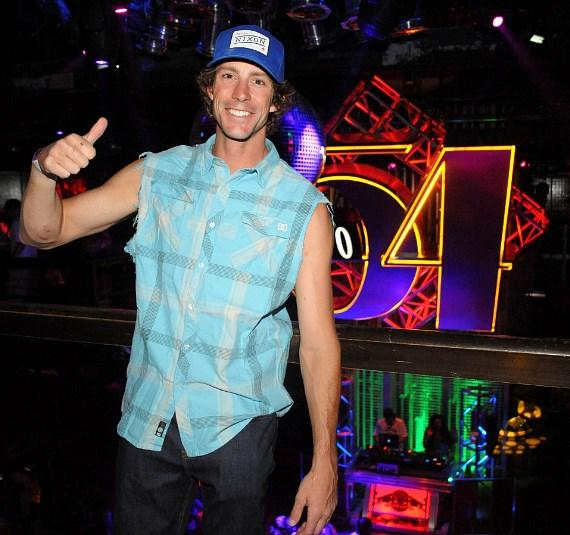 Travis Pastrana at Nitro Circus after-party, Studio 54 Las Vegas