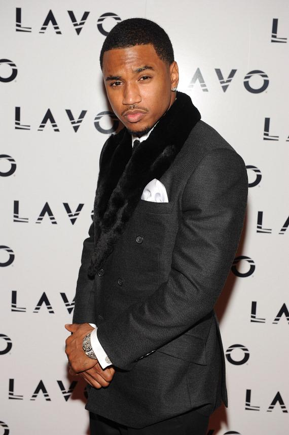 Trey Songz on LAVO red carpet
