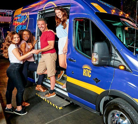 RTC Debuts On-Demand Rideshare Service on Las Vegas Strip