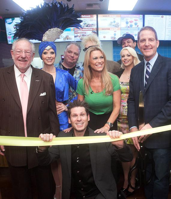 Tropical Smoothie and Excalibur Food Court Ribbon Cutting Ceremony