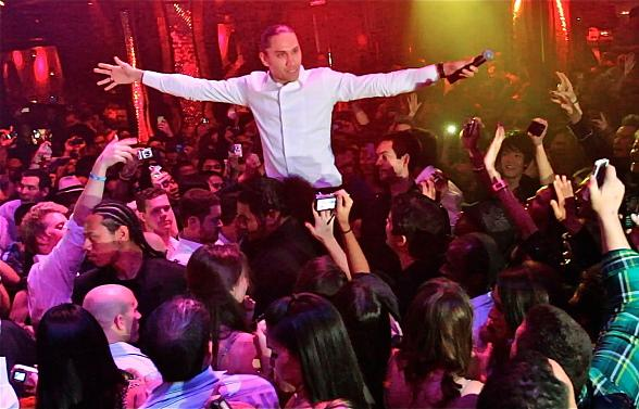 Black Eyes Peas' Taboo gives impromptu performance at Tryst Nightclub