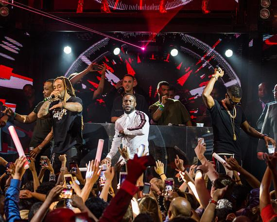 Ty Dolla $ign, Kevin Hart & Usher at the Official HartBeat Weekend