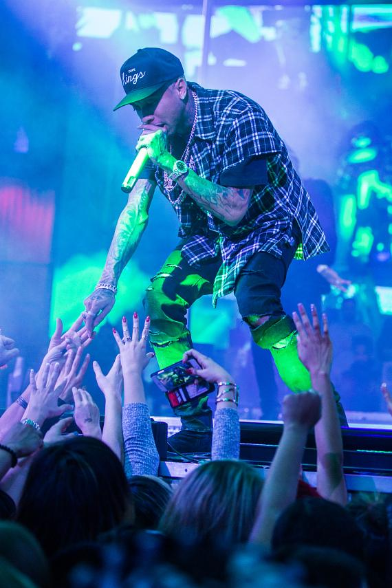 Rapper Tyga Kicks Off Big Game Weekend with Performance at Drai's Nightclub Las Vegas