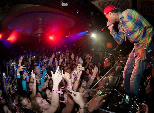 Tyga Performs at LAVO