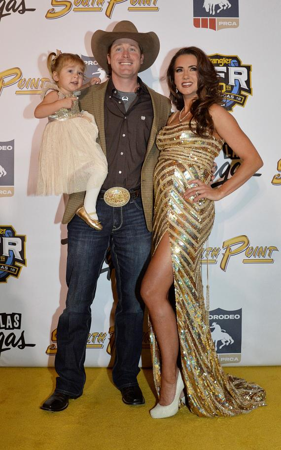 "The 2018 Wrangler National Finals Rodeo Kicks Off In Style With The ""Road to the Gold Buckle"" Gold Carpet Event at South Point Hotel, Casino and Spa"