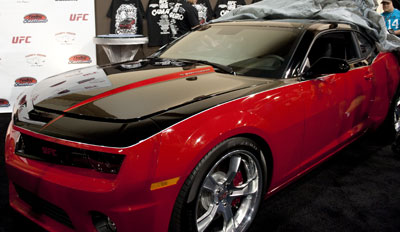 UFC Camaro to be Auctioned at Barrett-Jackson Collector Car Event Sept. 24