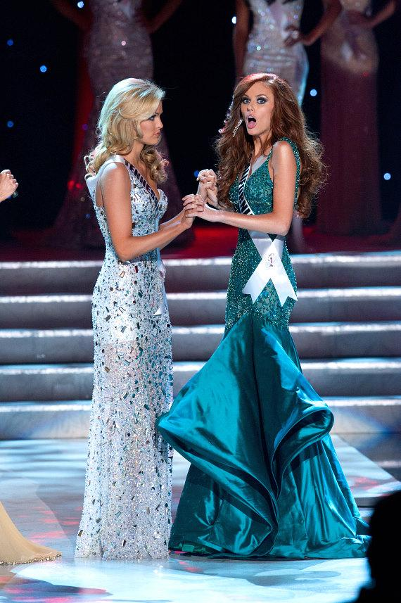 Miss Tennessee USA 2011, Ashley Durham is first runner up as Miss California USA 2011, Alyssa Campanella, is the winner of the 2011 MISS USA® Competition. S