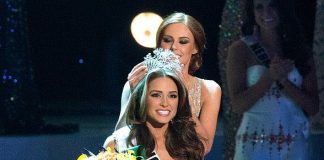 Miss Rhode Island USA 2012, Olivia Culpo, of Cranston, is crowned Miss USA 2012