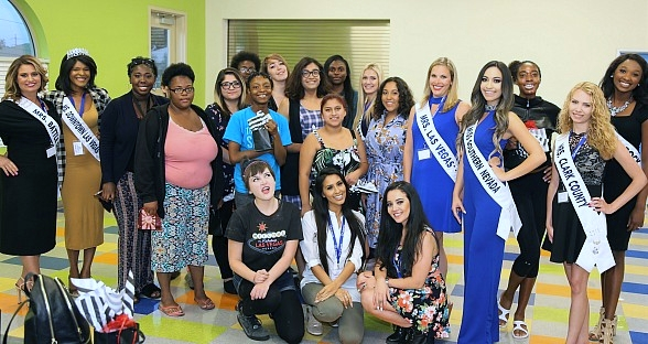 United States of America's Miss Nevada Pageant Hosts Life Skills Class for Shannon West Homeless Youth Center Residents