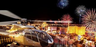 Sundance Helicopters only Helicopter Tour Company to Fly Over Las Vegas During Fireworks Shows on July 4th