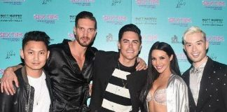 """Vanderpump Rules"" Star Tom Sandoval at ""Sex Tips for Straight Women from a Gay Man"" at Paris Las Vegas"