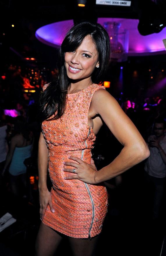 Vanessa Minnillo at Marquee Dayclub