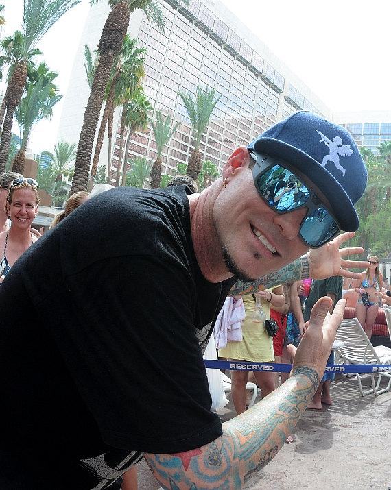 Vanilla Ice Hosts at Flamingo GO Pool in Las Vegas