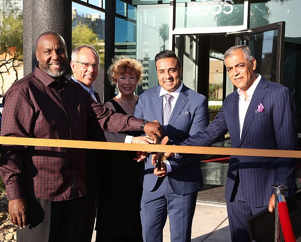 Celebrities and Dignitaries Celebrate the Grand Opening of Vegas Auto Gallery's New Luxury Showroom