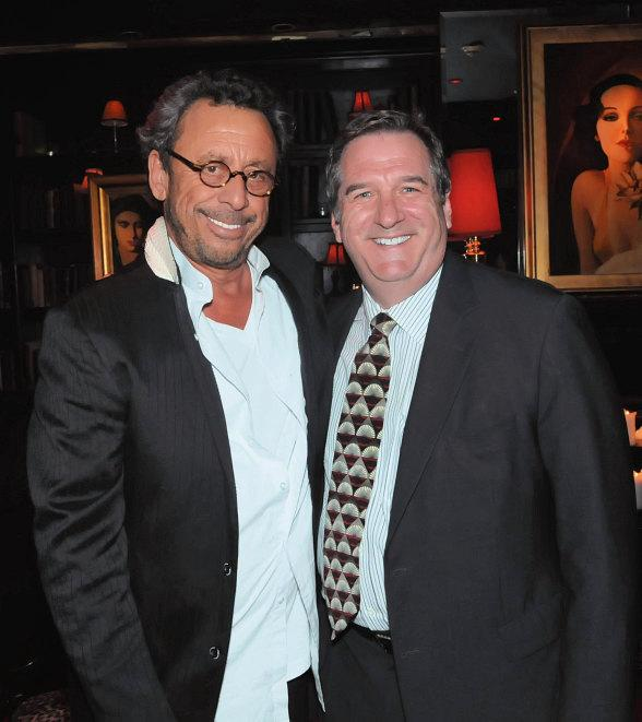 Victor Drai, owner and operator of Drai's After Hours poses with Rick Mazer, Regional President of Bill's Gamblin' Hall & Saloon