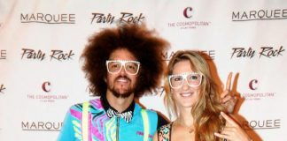 Victoria Azarenka and Redfoo at Marquee